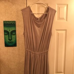 NWOT, Rachel Pally Dove Gray Maxi Dress, size XL